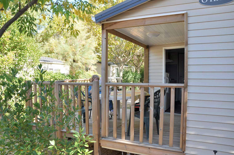 Mobil-Home 4 places avec sanitaires