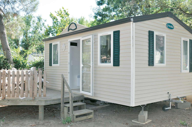Mobil-Home 2 places avec sanitaires